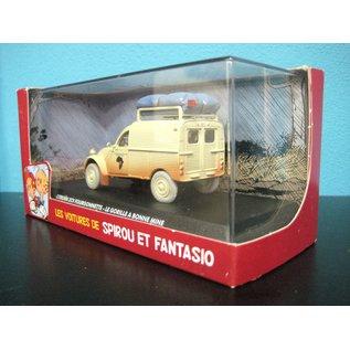 Editions Atlas Les voitures de Spirou et Fatasio - Citroen 2CV Fourgonnette - Le Gorille a bonne mine