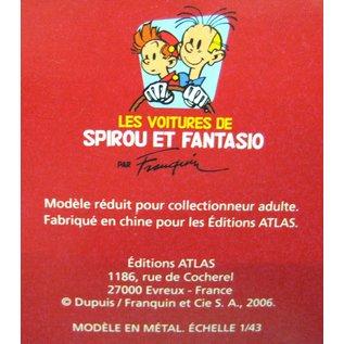 Editions Atlas Les voitures de Spirou et Fantasio - Renault 4CV - La Mauvaise tete