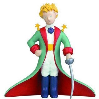 Plastoy The Little Prince with a saber