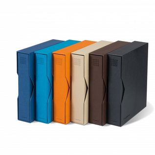Leuchtturm ringbinder & slipcase Optima Pur brown