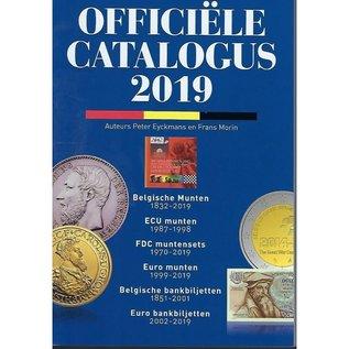 Morin Officiële catalogus der Belgische munten editie 2019