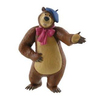 Comansi Masha and the Bear - figurine Oso as painter