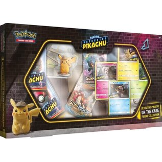 The Pokemon Company Pokémon Detective Pikachu on the case figure collection
