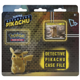 The Pokemon Company Pokémon Detective Pikachu case file