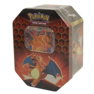 The Pokemon Company Pokémon Hidden Fates GX Charizard blik