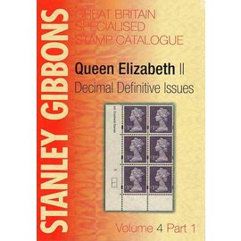 Gibbons Great Britain Volume 4 Part 1 Queen Elizabeth Decimal Definitive Issues