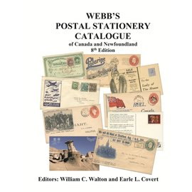 Webb Postal Stationery Catalogue of Canada and Newfoundland