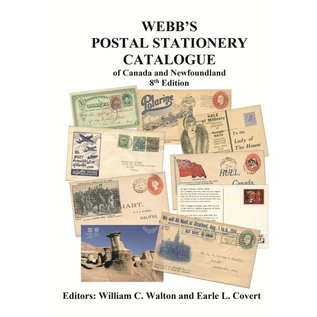 Webb Postal Stationery Catalogue of Canada and Newfoundland