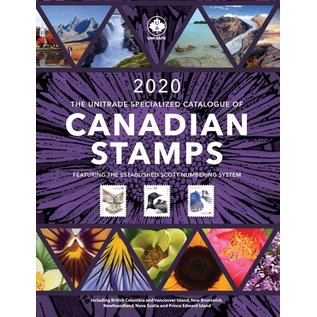 Unitrade The Unitrade Specialized Catalogue of Canadian Stamps edition 2020