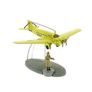 moulinsart Kuifje vliegtuig - Het Sabena vliegtuig