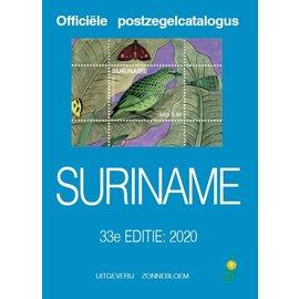 Zonnebloem Officiële postzegelcatalogus Suriname 2020