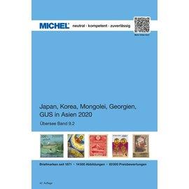 Michel Übersee-Katalog Japan, Korea, Mongolei, GUS in Asien 2020