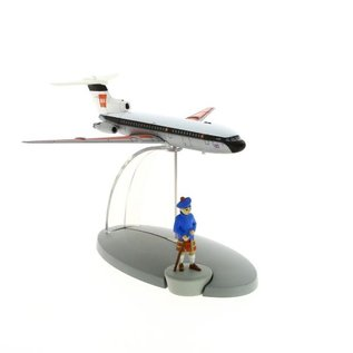 moulinsart Kuifje vliegtuig - Het vliegtuig van British European Airways