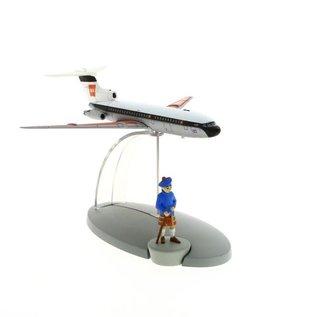 moulinsart Tintin airplane - The airplane of the British European Airways