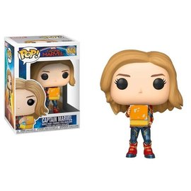Funko Pop! Marvel 444 Captain Marvel with Lunchbox