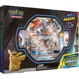The Pokemon Company Detective Pikachu Greninja-GX Case File