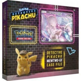 The Pokemon Company Detective Pikachu Mewtwo-GX Case File