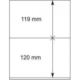 Lindner blanco bladen 802.204 - 10 stuks