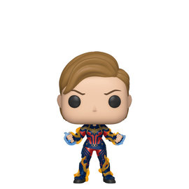Funko Pop! Marvel Avengers Endgame 576 Captain Marvel with Short Hair