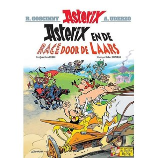Les Éditions Albert René Asterix en de race door de laars