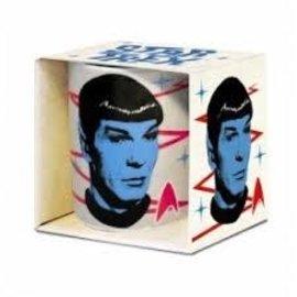 Logoshirt Star Trek Spock mok