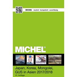 Michel 9.2 Japan, Korea, Mongolei, GUS in Asien 2017/2018