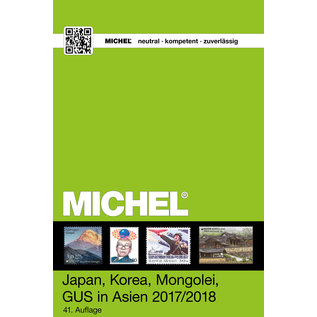 Michel 9.2 Japan, Korea, Mongolei, GUS in Asien 2017/2018
