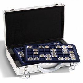 Leuchtturm Aluminium coin case Cargo L6 for 240 2-euro coins in capsules