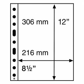 Leuchtturm Glasheldere bladen Grande Easy 1C - 50 stuks