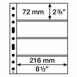 Leuchtturm Glasklare Hüllen Grande Easy 4C - 50 Stück