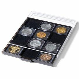 Leuchtturm muntenbox MB S 12 vierkante vakken 67x67 mm voor Quadrum XL