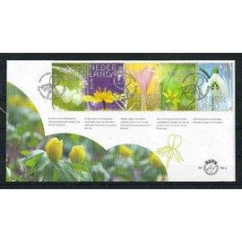 NVPH FDC 783 a & b Beleef de natuur Stinsenplanten