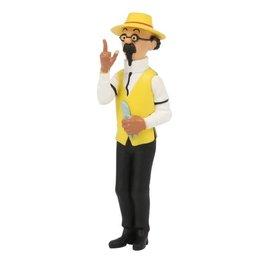 moulinsart Tintin figurine - Professor Calculus as gardner