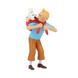 moulinsart Tintin figurine - Tintin returns Snowy