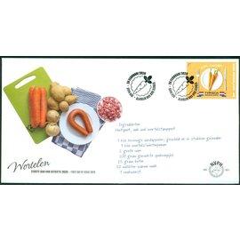NVPH Nederland FDC 801 Typisch Nederland: Wortelen