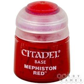 Games Workshop Citadel Base Mephiston Red