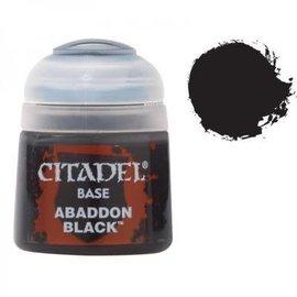 Games Workshop Citadel Abaddon Black