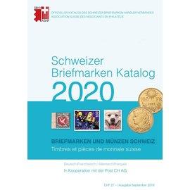 SBK Schweizer Briefmarken Katalog 2020