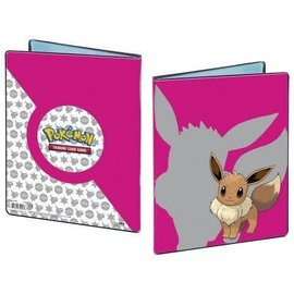 Ultra-Pro Pokémon album Eevee roze 9-pocket