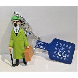 moulinsart Kuifje figuur - Professor Zonnebloem sleutelhanger