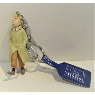 moulinsart Tintin figure - Tintin in raincoat Keychain