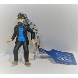 moulinsart Kuifje figuurtje - Kapitein Haddock sleutelhanger