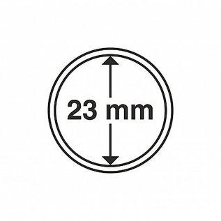 Leuchtturm Münzkapseln CAPS 23 mm - 100 Stück