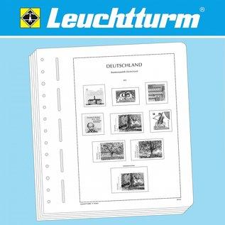 Leuchtturm album pages N Berlin 1948-1959