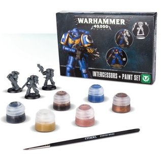 Games Workshop Warhammer 40,000 Intercessors + paint set