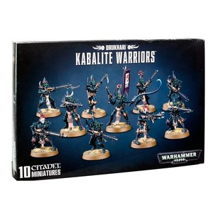 Games Workshop Warhammer 40,000 Drukhari Kabalite Warriors