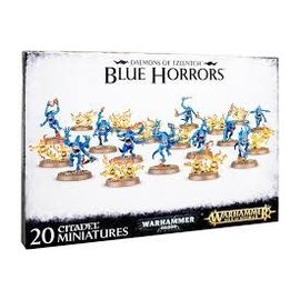 Games Workshop Warhammer Age of Sigmar Deamons of Tzeentch Blue Horrors