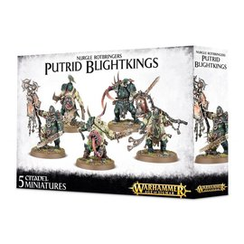 Games Workshop Warhammer Age of Sigmar Maggotkin of Nurgle Putrid Blightkings