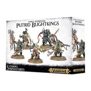 Games Workshop Warhammer Age of Sigmar Maggotkin of Nurgle Putrid Blightkings