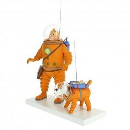 moulinsart Maan-Collectie: Kuifje & Bobbie op de maan